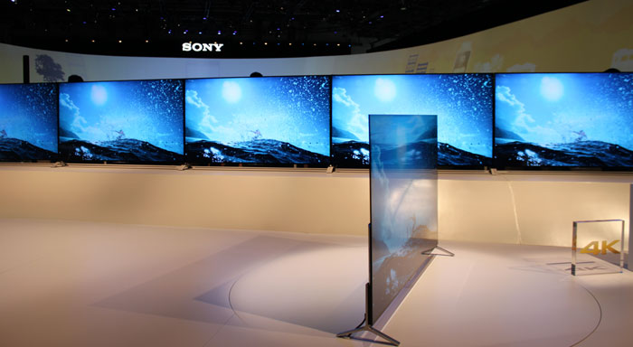 Sony X90C at CES 2015