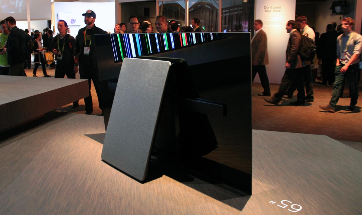 First Look At Sony S A1 Oled Amp 2017 High End Lcds