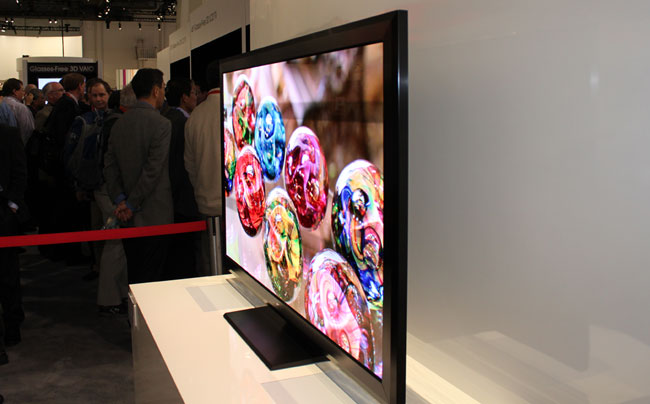 Sony's Crystal LED-TV prototype