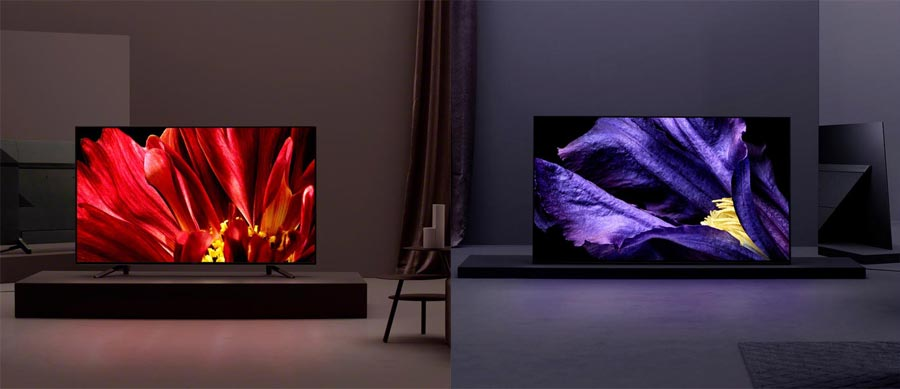 Sony Master OLED and LCD TV