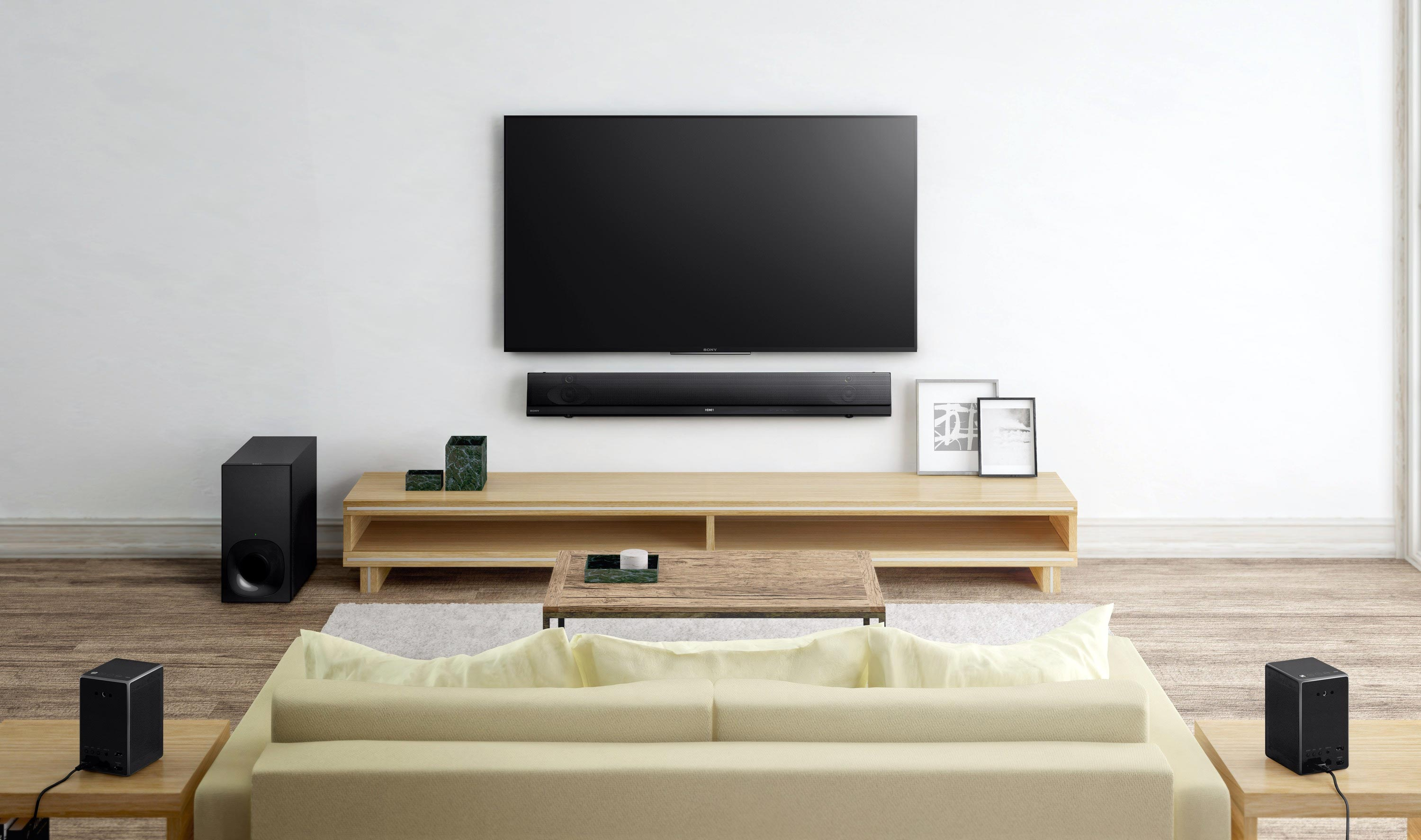 Sony wireless TV sound (NT5, ZR5 & ZR7) review - FlatpanelsHD