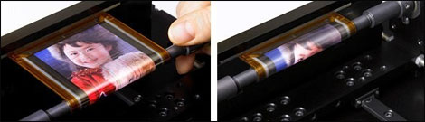 Rollable Sony OLED