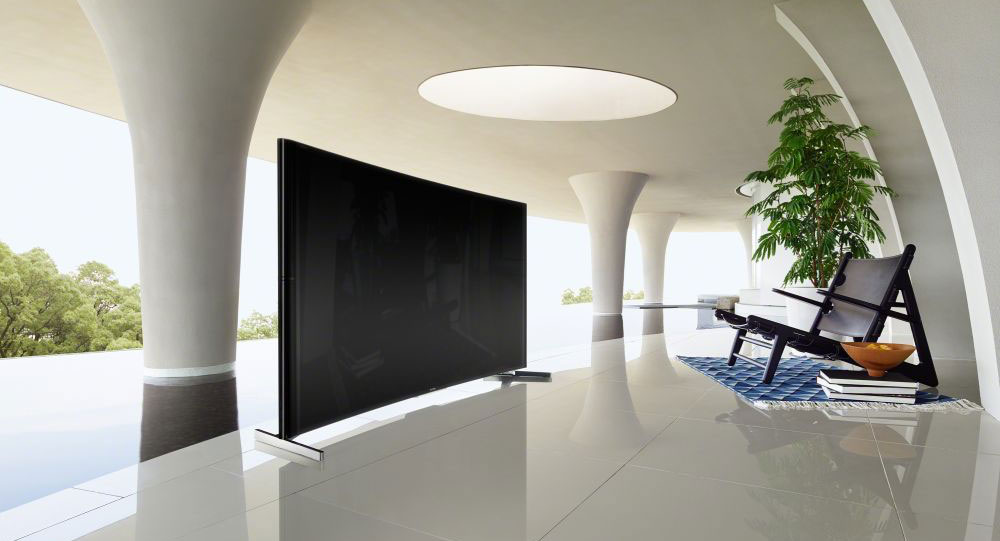 Sony Unveils Curved 65 And 75 Inch 4k Tvs Review