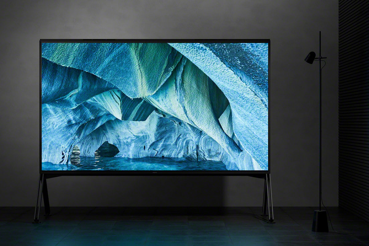 Sony goes super-size with its first 8K Z9G (ZG9) TVs ...