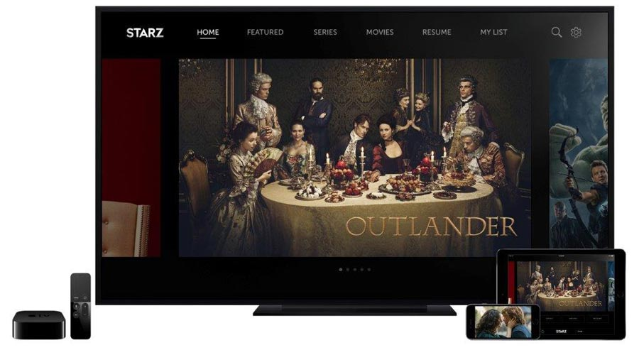 Starz on Apple TV