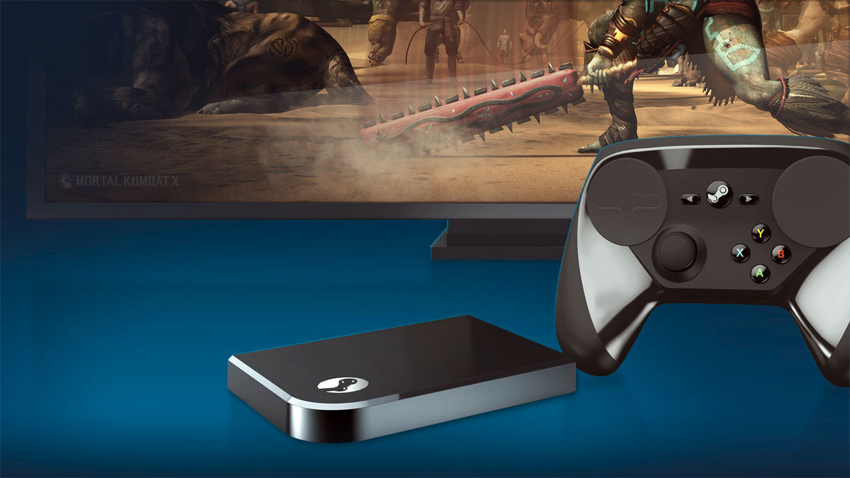 Steam Link Is A Small Black Box That Connects To Your Tv Via Hdmi It Will Let You Access Your Full Library Of Games On The Living Room Tv By Streaming The