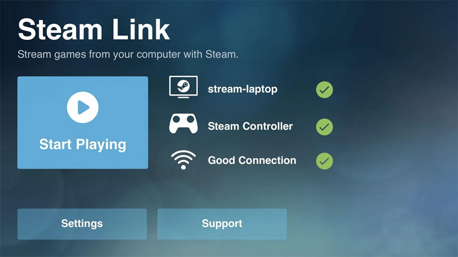 Steam Link on Android