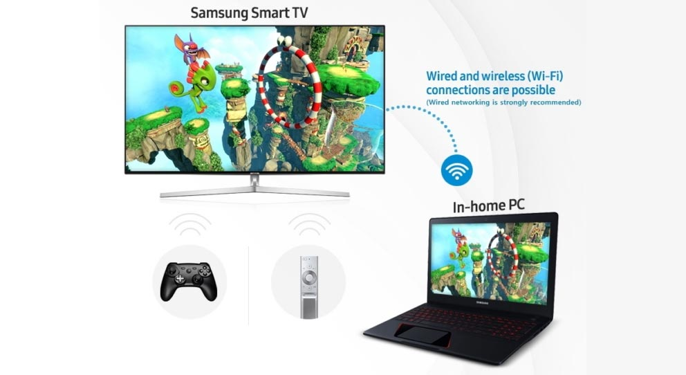 Steam Link on Samsung Smart TV