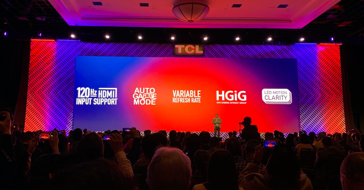 TCL at CES 2020