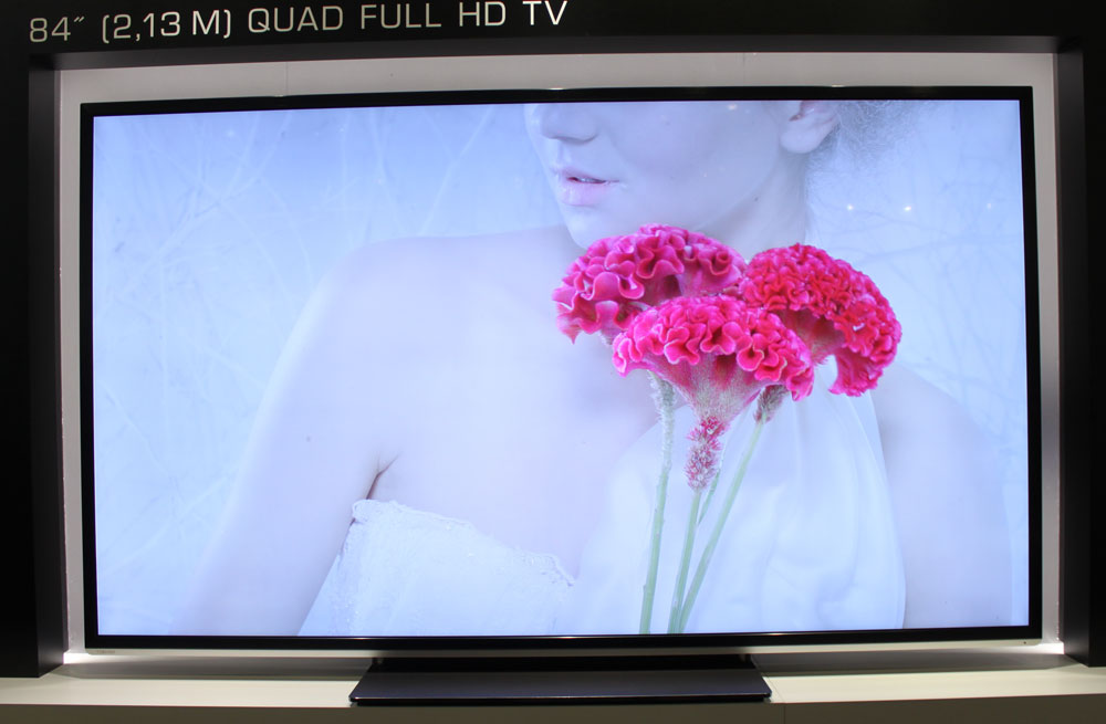 Hands-on with the new 4K TVs at IFA 2012