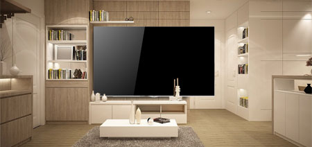 will the tv fit on your wall - What Size Tv For Living Room