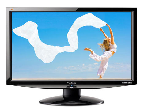 ViewSonic V3D241wm-LED 120 Hz monitor