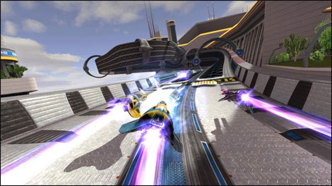 Wipeout HD 3D