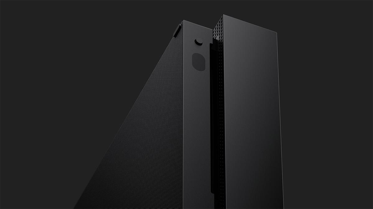 Xbox One X is a 4K HDR game console, coming in November for